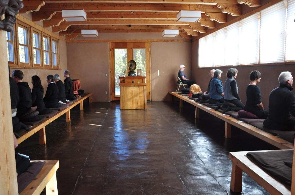 zen buddhism sitting