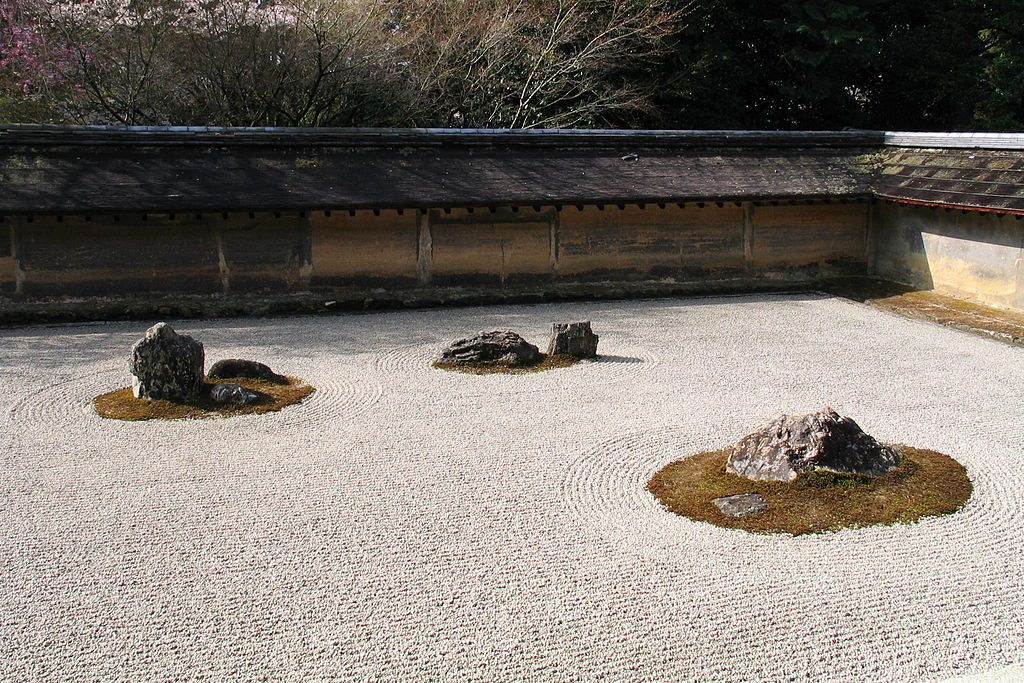 zen garden three treasures
