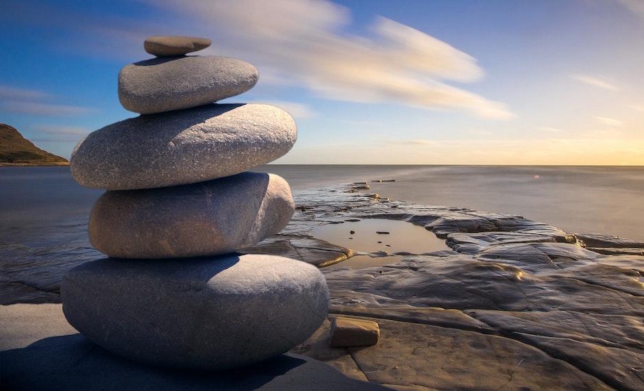 stack stones wisdom zen practice