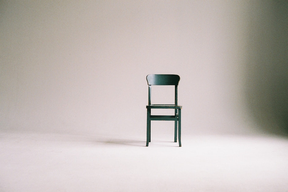 chair empty room no mind