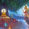 buddha & mara